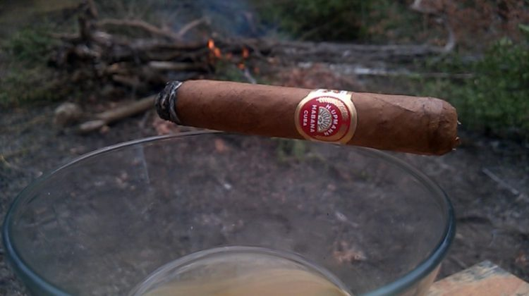 H. Upmann Petite Coronas, one third smoked