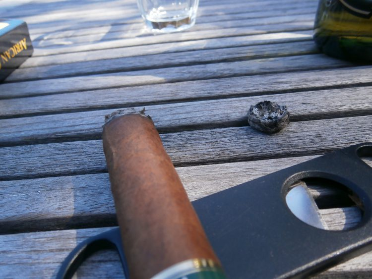 Montecristo Open Regata on a cigar cutter