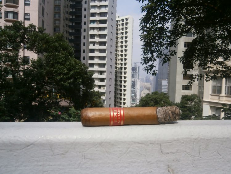 Partagás Serie D No. 4 partially smoked