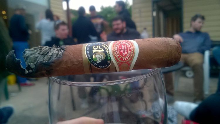 Romeo y Julieta Hermosos No. 3 510 Aniversario Humidor, final third