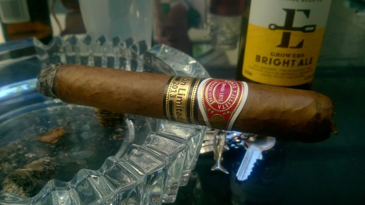 Romeo y Julieta De Luxe Edición Limitada 2013 somewhat smoked