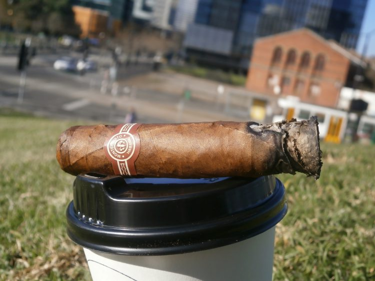 Montecristo Petit Edmundo two thirds remaining