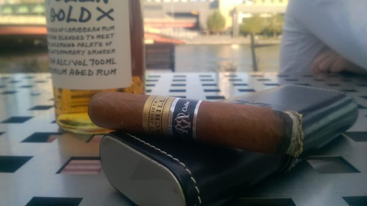 Romeo y Julieta Churchill Reserva Cosecha 2008, final third