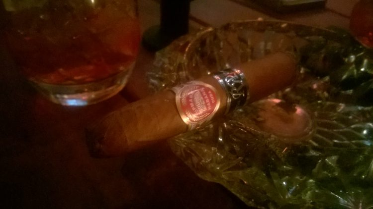H. Upmann No. 2 Reserva Cosecha 2010 somewhat smoked