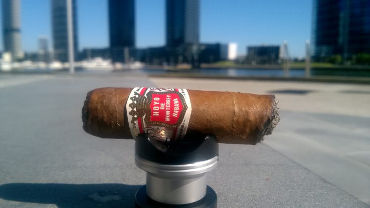 Hoyo de Monterrey Epicure No. 1 final third.