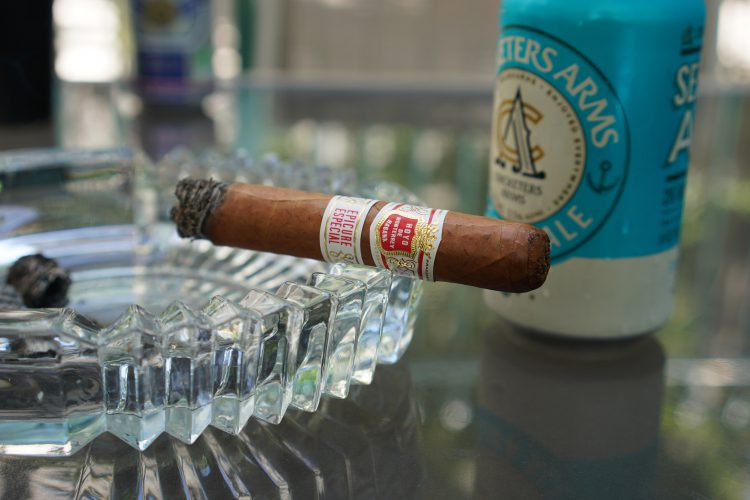 Hoyo de Monterrey Epicure Especial two thirds remain.