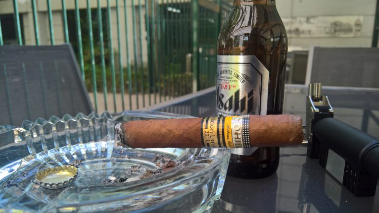 Cohiba Cohiba 1966 Edición Limitada 2011 somewhat burnt